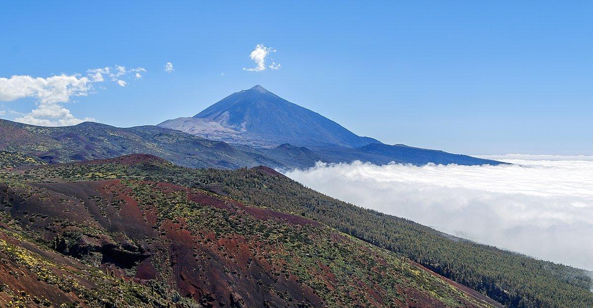 Pico del Teide en la isla de Tenerife
