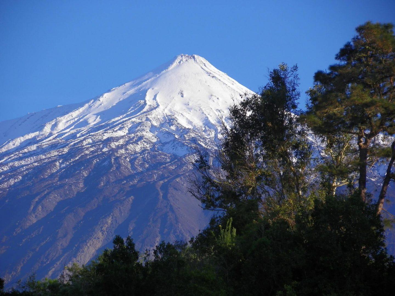 Pico del Teide, volcán nevado