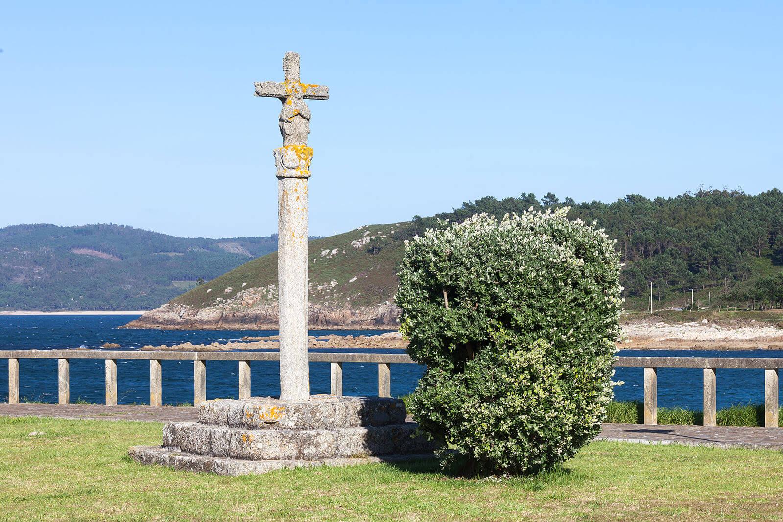 Cruceiro en Muxía (A Coruña).