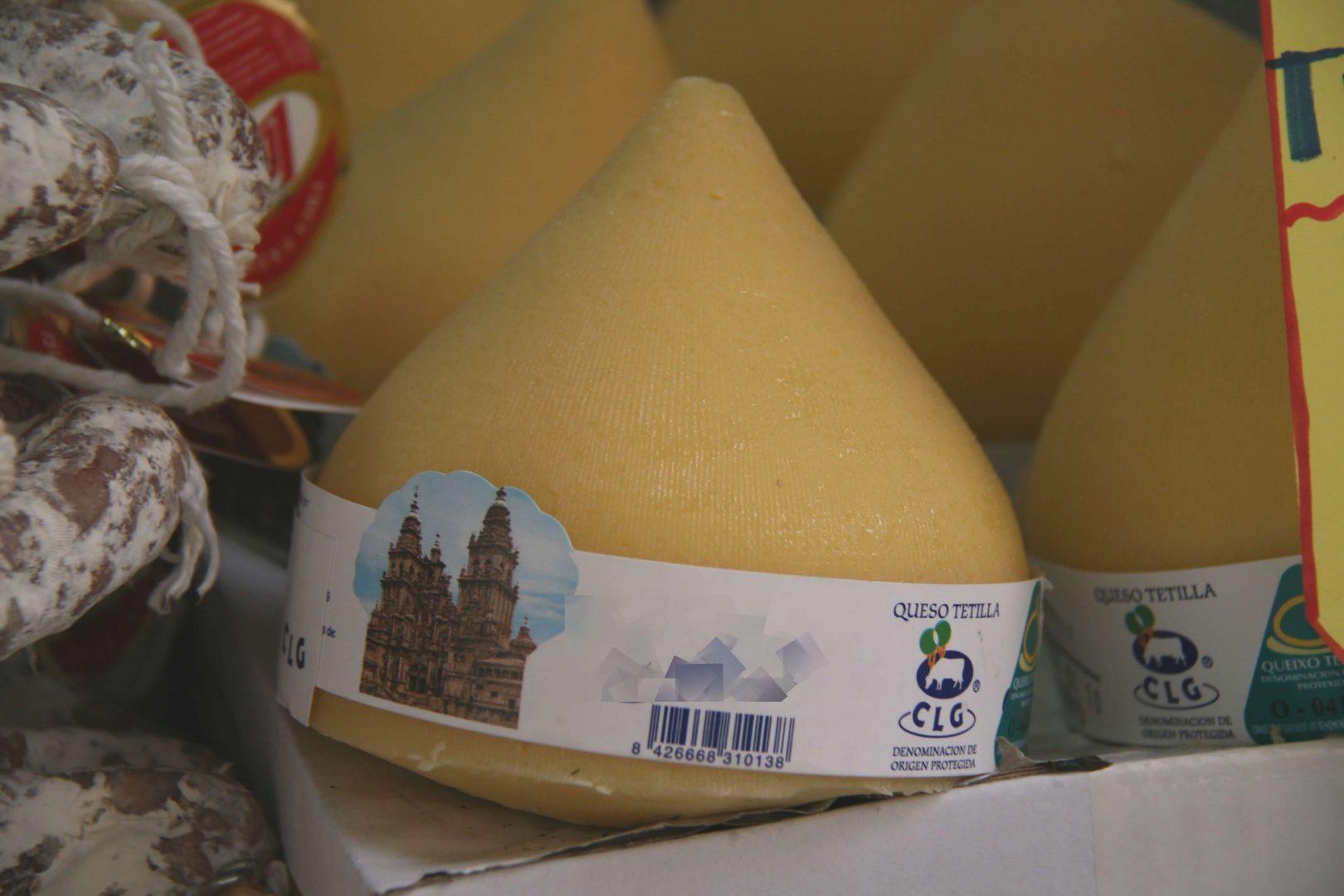queso de tetilla Galicia gastronomia