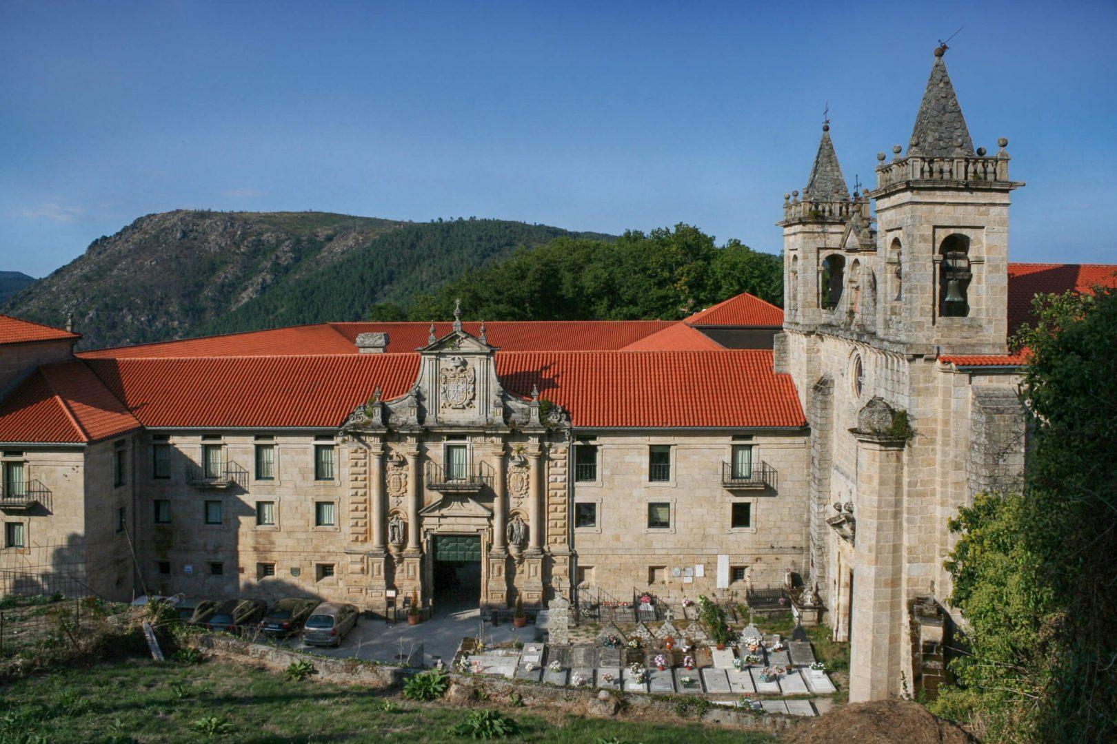 Santo Estevo de Ribas de Sil Galicia Spain España