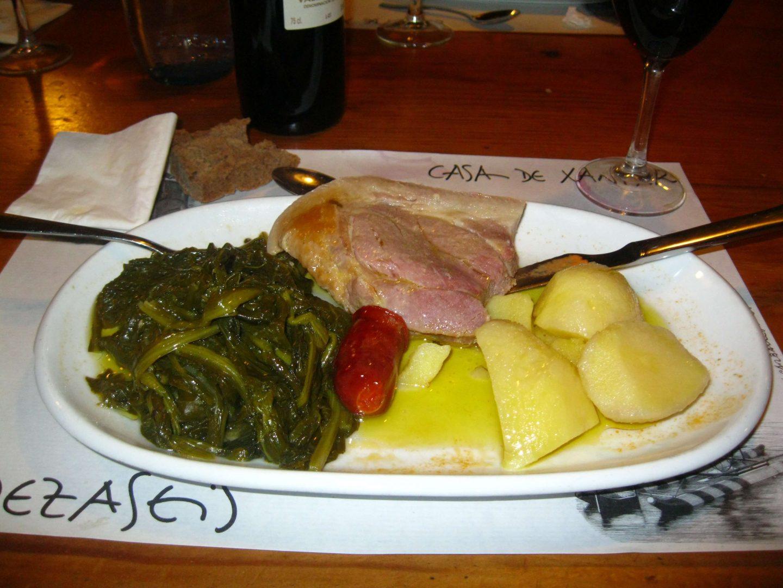 lacon con grelos Galicia gastronomia