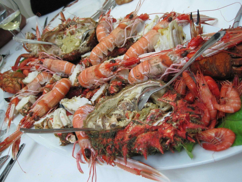 mariscada marisco Galicia gastronomia