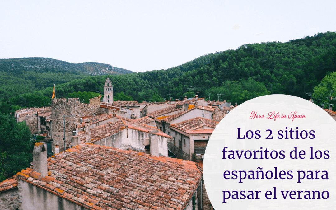 Los 2 sitios favoritos de los españoles para pasar el verano